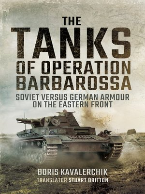 cover image of The Tanks of Operation Barbarossa
